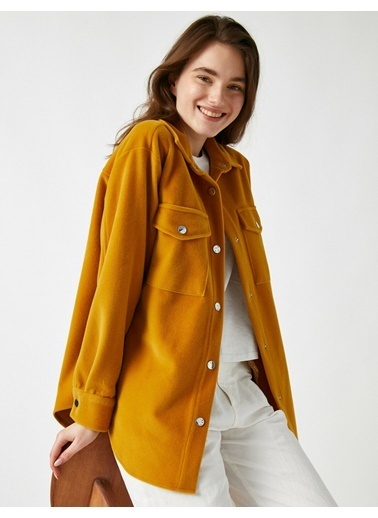 Koton Jackets Sarı